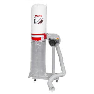 Dust collector ABS1080 incl. 2,5m tube (230V) 230V, Holzmann