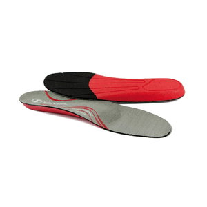 Insoles Modularfit high arch, grey/red 44, Sixton Peak