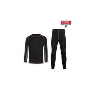 Thermal Underwear  Active, black, Pesso