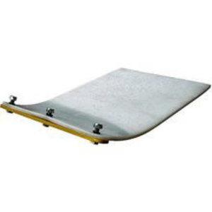 Vulcolan mat for AVP 1240, Ammann