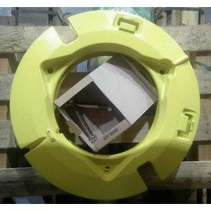 Tagaratta lisaraskused 2x55kg, John Deere