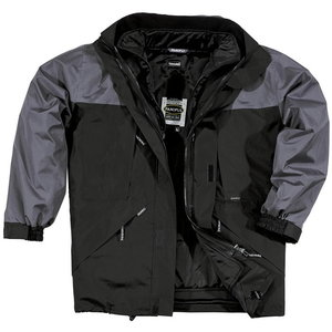 Talvejope Alaska, Hall/must 2XL, Delta Plus