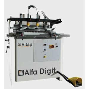 Mitmespindliline puurpink  ALFA21 DIGIT, Vitap