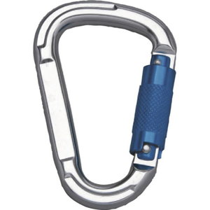 AUTOMATIC LOCK KARABINER, 22 MM OPENING - PACK OF 2, Delta Plus