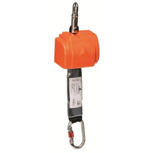 Self-retractable fall arrest equipment, 2,5 m, 1 karabiner, Delta Plus
