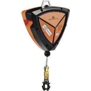 FALL ARRESTER, 1 AM020, cable 10 M, fall indicator, Delta Plus