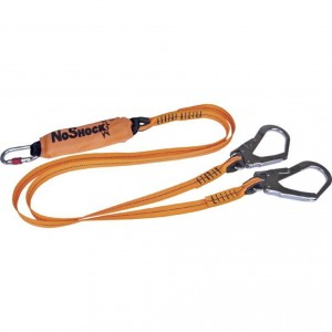 2-M LANYARD ENERGY ABSORBER FALL ARRESTER + 2 AM002+AM002, Delta Plus