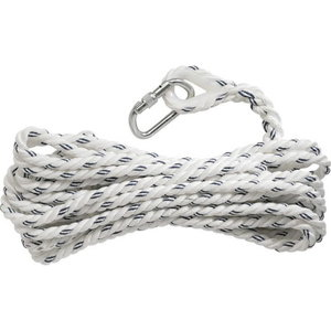 POLYAMIDE Ų 14 MM ROPE, LENGTH 10 M, 1 LOOP & THIMBLE, 1 AMr, Delta Plus