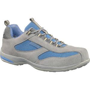 Darba apavi S1 SRC, gaiši pelēki/gaiši zili, 35. izmērs 35, Delta Plus