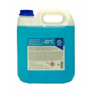 Logu tīrīšanas šķidrums  ziemas -20°C etanol-citron 4 4L, Stokker