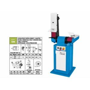 Belt grinding machine 120x1500