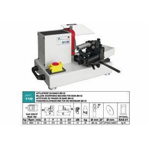 End mill sharpening machine ART.119