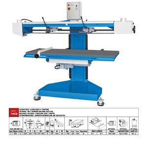 Belt grinding machine