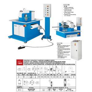 Belt grinding machine for tubes ART.160