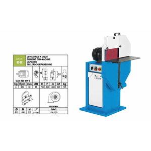 Disc grinding machine ART.62