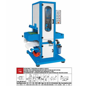 Belt grinding machine