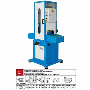 Belt grinding machines for flat surfaces ART.97
