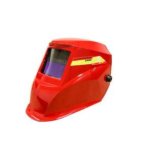 Pašaptumšojoša metinātāju maska DIN 9-13 Shine-5000, sarkana, Premium1