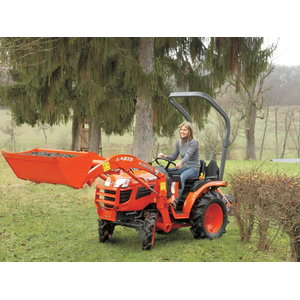 Tractor Kubota B1820 with front loader