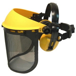 HEARING PROTECTION NETWORK VISOR COMBINATION, BBT
