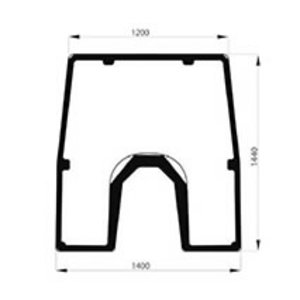Front glass JD L213348, Bepco