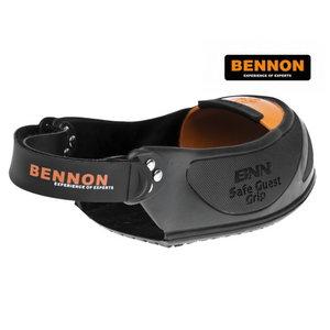 Jalatsi turvanina külastajale M, Bennon