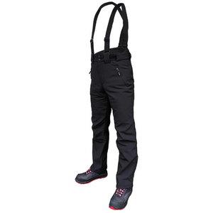 Winter softshell trousers Barnabi, black, with brace L, , Pesso