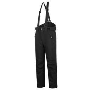 Winter softshell trousers Barnabi, black, with brace L, Pesso