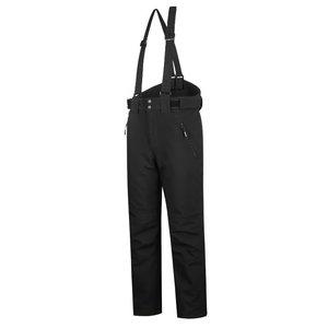 Winter softshell trousers Barnabi, black, with brace XL, Pesso
