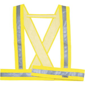 Õla turvavöö neoon kollane, Delta Plus