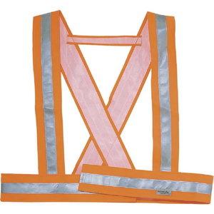 Õla turvavöö neoon oranž, Delta Plus