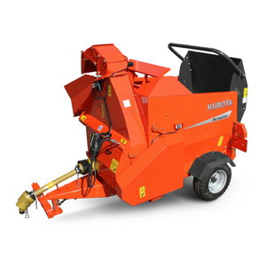Bale chopper and shredder  BC 1300Pro, Kubota