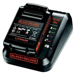 Akulaadija 1Amp + 18V / 1,5Ah aku, Black+Decker