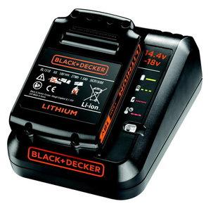 Charger 1Amp + 18V / 1,5Ah battery, Black+Decker