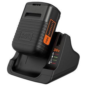 Charger 2Amp + 36V / 2,0Ah battery, Black+Decker