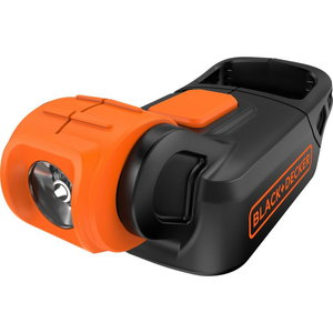 Cordless flashlight BDCCF18N, without battery / charger, Black+Decker