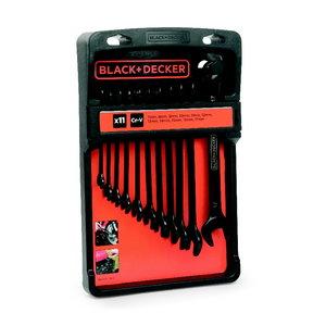 Lehtsilmusvõtmete komplekt, 11 osa, Black+Decker