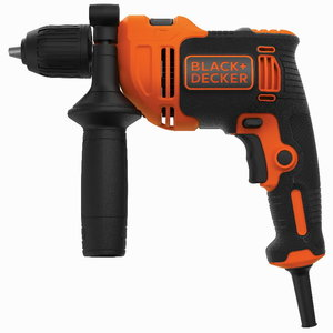 Percussion hammer drill BEH550 / 550W, Black+Decker