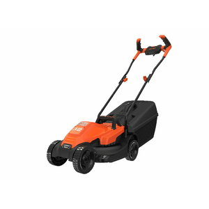 Electric lawn mower BEMW451BH / 1200 W / 32 cm, Black+Decker