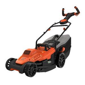 Elektriskā mauriņa pļaujmašīna BEMW471ES / 1600 W / 38 cm, Black+Decker