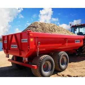Dump trailer  BT-10, Bigab
