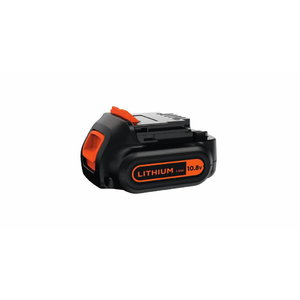 10,8V Lithium-ion 1,5Ah akumulators, Black+Decker