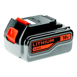 Aku 18V / 4,0 Ah Li-ion, Black+Decker