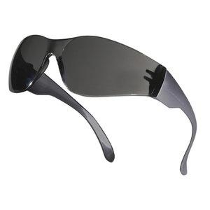 Aizsargbrilles BRAVA2 ar tonētām lēcām un pelēku rāmi, Delta Plus