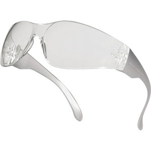 BRAVA2 protective glasses, clear lens, clear frame, Delta Plus