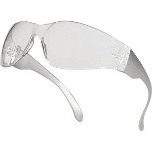 Защитные очки BRAVA2, с прозрачными линзами и прозрачной оправой, DELTAPLUS