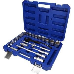 """1/2"""" Socket set, 25-pcs, Brilliant Tools"""