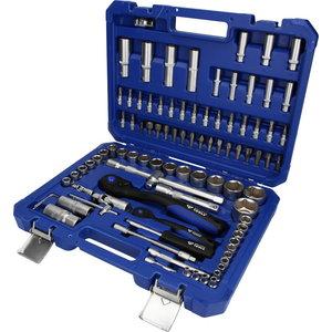 """Socket set, 94-pcs, 1/4"""", 1/2"""", Brilliant Tools"""