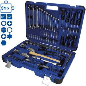 Universaalne tööriistade kmpl, 95-osa, Brilliant Tools