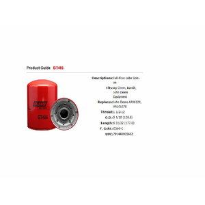 Масляный фильтр мотора RE57394, BALDWIN